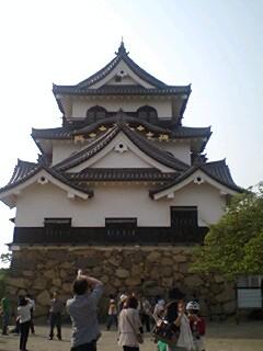 滋賀県.彦根城.つぶらもち