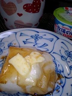 バター醤油餅
