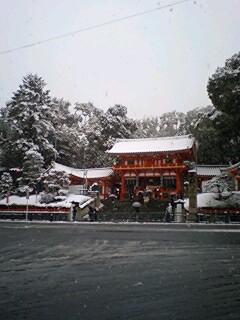 大晦日の京都市内