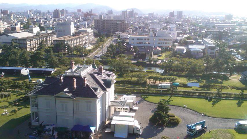 鳥取城跡なぅ